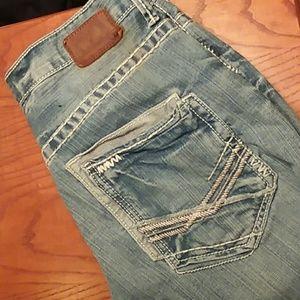 Mens BKE jeans relaxed straight leg